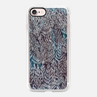 Snow Pines (Blue) iPhone 7 Case by Kanika Mathur | Casetify