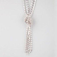 FULL TILT 3 Row Knotted Mesh Necklace | Necklaces