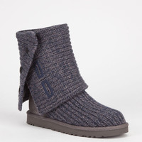 Ugg Classic Cardy Womens Boots Navy/Charcoal  In Sizes