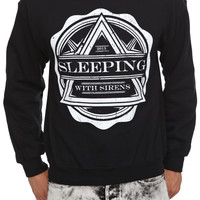 Sleeping With Sirens Crest Pullover Sweatshirt   Hot Topic