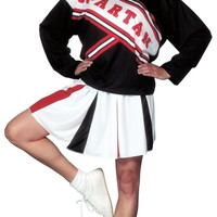 Cheerleader Spartan Girl costume
