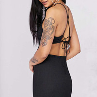 Silence + Noise Cutout Strappy Back Bodycon Mini Dress - Urban Outfitters