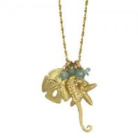 sealife cluster (18k vermeil) [N860V] - $155.00 : Catherine Weitzman Jewelry, :: California :: Hawaii :: New York ::