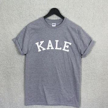 KALE T Shirt Top Unisex Flawless Vegan Gym Music Fashion Organic