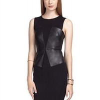 Bailey 44 Big Band Dress | Faux Leather Dress