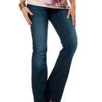 Under Belly Super Stretch Boot Cut Maternity Jeans