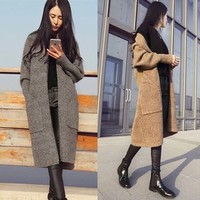 Buy Happo Knitted Coat | YesStyle