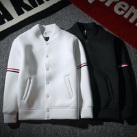 Hot Deal Sports On Sale Jacket Winter Cotton Couple Simple Design Stylish Hoodies Baseball [9297818564]