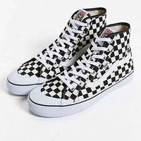 Vans Black Ball Hi SF Checkered Sneaker
