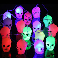 3.5 M 15 LED  Pumpkin Lanterns Lights Outdoor Halloween Fairy String Lights for Home Party Decoration for halloween