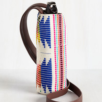 Made to Your Hiking Bottle Tote in Geometric | Mod Retro Vintage Keychains | ModCloth.com