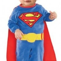 Superman Romper With Removable Cape Superman, Superman , 1-2 Years