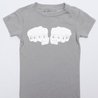 BK Knucks Toddler Graphic T-Shirt in Kids New at Brooklyn Industries