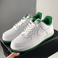 Nike Air Force 1 Low men's and women's white low-top sneakers