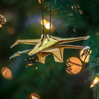 STARWARS Limited Edition ORIGAMI SCULPTURE Hanging Holiday Ornament