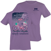 Simply Southern Preppy Classy Summer Day Bike T-Shirt