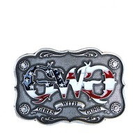 Montana Silversmiths Patriot Buckle | Girls with Guns Clothing