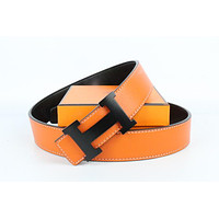 Hermes belt men's and women's casual casual style H letter fashion belt621