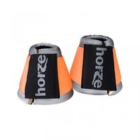Orange reflective bell boots