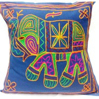 Embroidery decorative pillow cover set