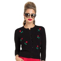 Black Rose Voodoo Vixen Cardigan