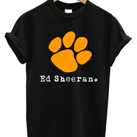 New Ed Sheeran Foot Croos Pop Rock UK Band Men Cotton T Shirt Tee - 02ED