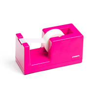 Pink Tape Dispenser | Tape & Tape Dispensers | Poppin