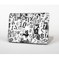 """The Newspaper Letter Collage Skin Set for the Apple MacBook Air 13"""""""