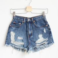 Phoenix Distressed Shorts