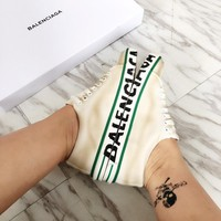 Balenciaga Women Match Trainers