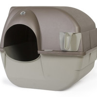 Omega Paw Roll 'N Clean Cat Litter Box Size: Regular