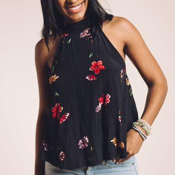 Botanicals Blouse in Black