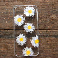 Hand Painted Daisies Phone Case