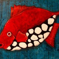 Gorgeous Redfish Artwork