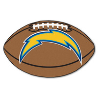 SAN DIEGO CHARGERS FOOTBALL FLOOR MAT (22X35)