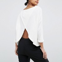 Y.A.S Lounge Mikayla 3/4 Top at asos.com