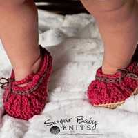 Mary Jane Baby Shoes - Custom Order Size & Color