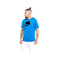 Nike Men's NSW Sportswear Sports Pack S/S 2020 Tee Battle Blue Black