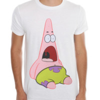 SpongeBob SquarePants Surprised Patrick T-Shirt 2XL