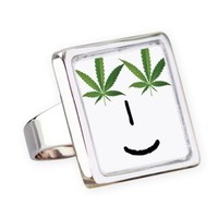 Pot Head Emote Square Ring> The Pot Head Emote> 420 Gear Stop