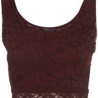 Lace Crop Top - New In This Week - New In - Topshop