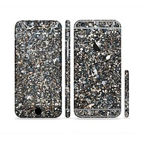 The Small Dark Pebbles Sectioned Skin Series for the Apple iPhone6s Plus