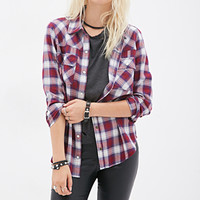 Tartan Plaid Button-Down Shirt
