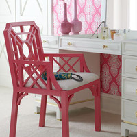 """Lilly Pulitzer Home - """"Boulevard"""" Armchair - Horchow"""