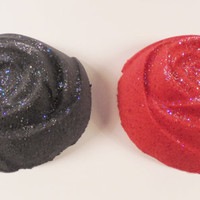 Black and Red Rose Bath Bomb, bath bomb, bath bombs, party favors, birthday gift, christmas gift, wedding gift, bachelorette party gift