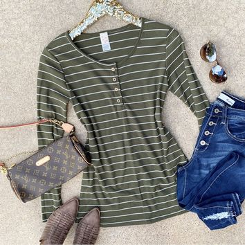 Heart And Soul Striped Top