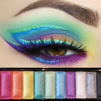 L.A. GIRL 10 COLOR EYE PALETTE