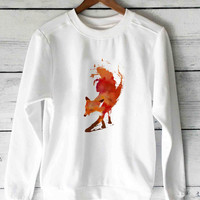 vulpes fox sweater unisex adults