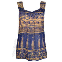 World Traveler's Printed Tank Top on Sale for $19.95 at HippieShop.com