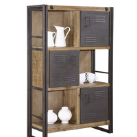 Brooklyn Shelf with Doors - Moe's Home Collection
